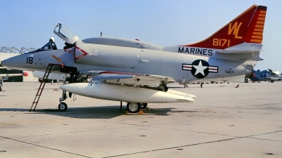 Photo ID 223615 by Gerrit Kok Collection. USA Marines Douglas A 4M Skyhawk, 158171