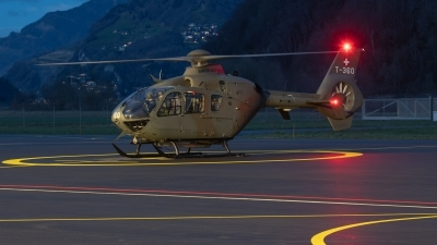 Photo ID 223579 by Reto Gadola. Switzerland Air Force Eurocopter TH05 EC 635P2, T 360