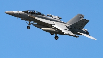 Photo ID 223688 by Aaron C. Rhodes. USA Navy Boeing EA 18G Growler, 168267