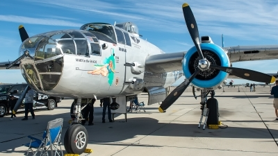 Photo ID 223705 by W.A.Kazior. Private Commemorative Air Force North American B 25J Mitchell, N125AZ