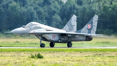 Photo ID 223722 by W.A.Kazior. Poland Air Force Mikoyan Gurevich MiG 29A 9 12A, 77