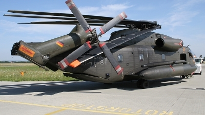 Photo ID 25667 by Lutz Lehmann. Germany Army Sikorsky CH 53GS Sea Stallion, 84 91