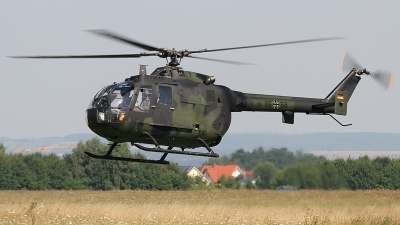 Photo ID 25731 by Lutz Lehmann. Germany Army MBB BO 105 P1A1, 86 68