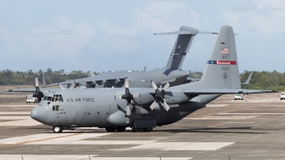Photo ID 223763 by Hector Rivera - Puerto Rico Spotter. USA Air Force Lockheed C 130H Hercules L 382, 93 1563