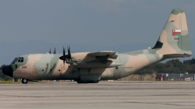 Photo ID 223801 by F. Javier Sánchez Gómez. Oman Air Force Lockheed Martin C 130J Hercules L 382, 506