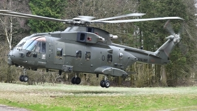 Photo ID 223771 by frank van de waardenburg. UK Navy Agusta Westland Merlin HC3 Mk411, ZJ130