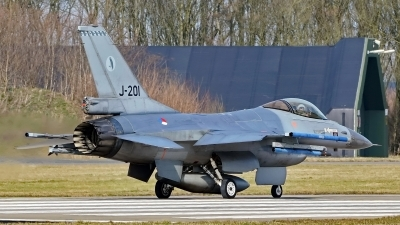 Photo ID 223774 by Dieter Linemann. Netherlands Air Force General Dynamics F 16AM Fighting Falcon, J 201