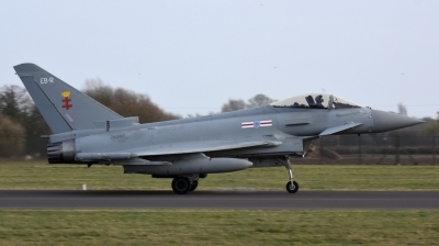 Photo ID 223792 by Bart Hoekstra. UK Air Force Eurofighter Typhoon FGR4, ZK367