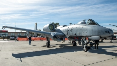 Photo ID 223828 by W.A.Kazior. USA Air Force Fairchild A 10C Thunderbolt II, 78 0684