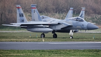 Photo ID 223889 by Rainer Mueller. USA Air Force McDonnell Douglas F 15C Eagle, 85 0118