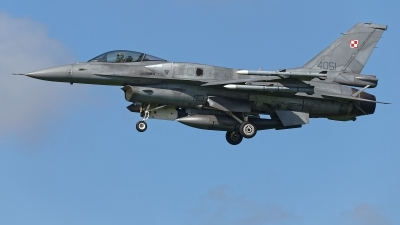 Photo ID 224087 by Rainer Mueller. Poland Air Force General Dynamics F 16C Fighting Falcon, 4051