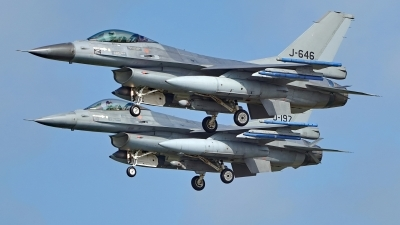 Photo ID 224120 by Dieter Linemann. Netherlands Air Force General Dynamics F 16AM Fighting Falcon, J 646