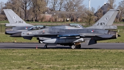 Photo ID 224190 by Rainer Mueller. Netherlands Air Force General Dynamics F 16AM Fighting Falcon, J 871