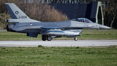 Photo ID 224296 by Rainer Mueller. Netherlands Air Force General Dynamics F 16AM Fighting Falcon, J 008