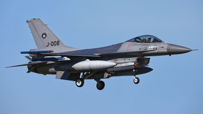 Photo ID 224295 by Rainer Mueller. Netherlands Air Force General Dynamics F 16AM Fighting Falcon, J 008