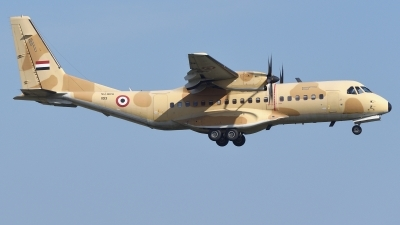 Photo ID 224312 by Günther Feniuk. Egypt Air Force CASA C 295M, 1193