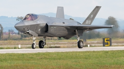 Photo ID 224358 by George Markakis. Italy Air Force Lockheed Martin F 35A Lightning II, MM7334