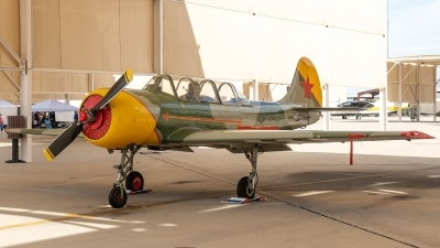 Photo ID 227121 by W.A.Kazior. Private Private Yakovlev Aerostar Iak 52 Yak 52, N2504U