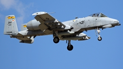 Photo ID 224500 by Richard de Groot. USA Air Force Fairchild A 10C Thunderbolt II, 78 0684