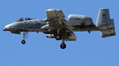 Photo ID 224819 by Richard de Groot. USA Air Force Fairchild A 10C Thunderbolt II, 80 0232