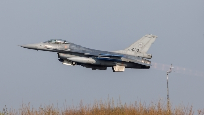 Photo ID 224464 by Age Meijer. Netherlands Air Force General Dynamics F 16AM Fighting Falcon, J 063