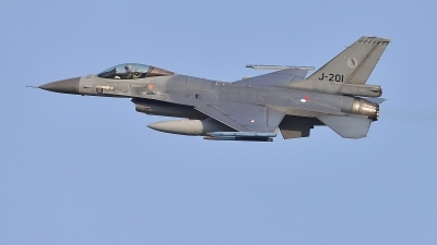 Photo ID 224409 by Frank Kloppenburg. Netherlands Air Force General Dynamics F 16AM Fighting Falcon, J 201