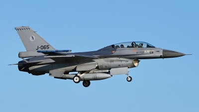 Photo ID 224419 by Dieter Linemann. Netherlands Air Force General Dynamics F 16BM Fighting Falcon, J 065