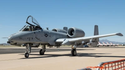 Photo ID 224441 by W.A.Kazior. USA Air Force Fairchild A 10A Thunderbolt II, 80 0211