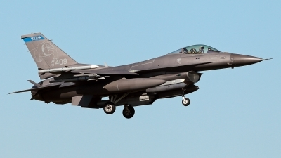 Photo ID 224540 by Carl Brent. USA Air Force General Dynamics F 16C Fighting Falcon, 91 0409