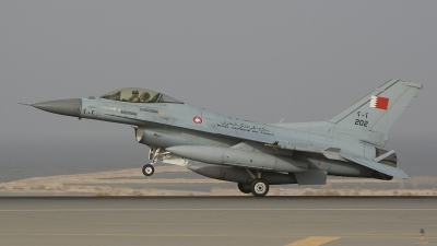 Photo ID 25691 by Frank Noort. Bahrain Air Force General Dynamics F 16C Fighting Falcon, 202