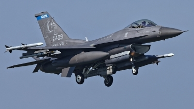 Photo ID 224617 by Rainer Mueller. USA Air Force General Dynamics F 16C Fighting Falcon, 91 0409