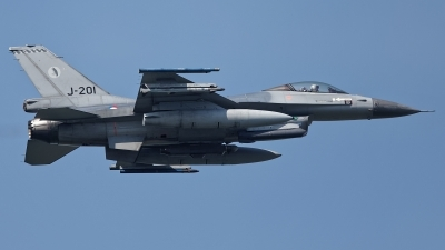 Photo ID 224629 by Rainer Mueller. Netherlands Air Force General Dynamics F 16AM Fighting Falcon, J 201