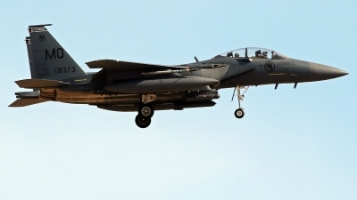 Photo ID 224855 by Richard de Groot. Singapore Air Force Boeing F 15SG Strike Eagle, 05 8373