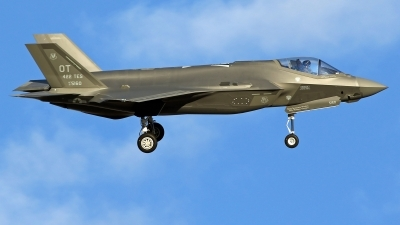 Photo ID 224721 by Richard de Groot. USA Air Force Lockheed Martin F 35A Lightning II, 15 5160