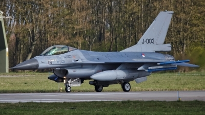 Photo ID 224720 by Rainer Mueller. Netherlands Air Force General Dynamics F 16AM Fighting Falcon, J 003