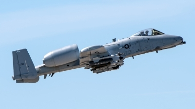 Photo ID 224681 by W.A.Kazior. USA Air Force Fairchild A 10C Thunderbolt II, 78 0712
