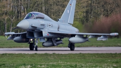 Photo ID 224715 by Rainer Mueller. Germany Air Force Eurofighter EF 2000 Typhoon T, 31 28