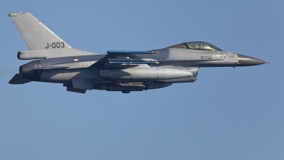 Photo ID 224716 by Rainer Mueller. Netherlands Air Force General Dynamics F 16AM Fighting Falcon, J 003