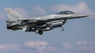 Photo ID 224764 by Jens Wiemann. Poland Air Force General Dynamics F 16C Fighting Falcon, 4051