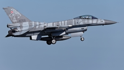 Photo ID 224775 by Rainer Mueller. Poland Air Force General Dynamics F 16C Fighting Falcon, 4056