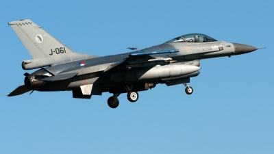 Photo ID 224852 by John. Netherlands Air Force General Dynamics F 16AM Fighting Falcon, J 061