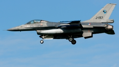 Photo ID 224868 by John. Netherlands Air Force General Dynamics F 16AM Fighting Falcon, J 197