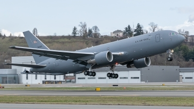 Photo ID 224946 by Paul Varner. USA Air Force Boeing KC 46A Pegasus 767 200LRF, 17 46025