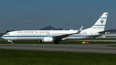 Photo ID 224978 by Thomas Ziegler - Aviation-Media. Kuwait Goverment Boeing 737 9BQ ER BBJ3, 9K GCC