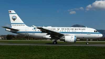 Photo ID 224979 by Thomas Ziegler - Aviation-Media. Kuwait Goverment Airbus A319 115CJ, 9K GEA