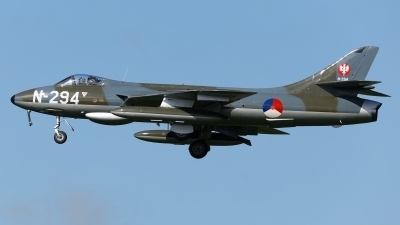 Photo ID 224895 by Rainer Mueller. Private DHHF Dutch Hawker Hunter Foundation Hawker Hunter F6A, G KAXF
