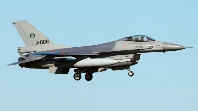 Photo ID 224925 by Carl Brent. Netherlands Air Force General Dynamics F 16AM Fighting Falcon, J 008