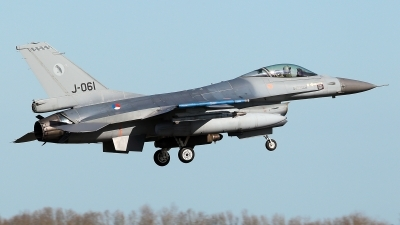 Photo ID 224936 by Carl Brent. Netherlands Air Force General Dynamics F 16AM Fighting Falcon, J 061