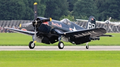Photo ID 225052 by Milos Ruza. Private Red Bull Vought F4U 4 Corsair, OE EAS