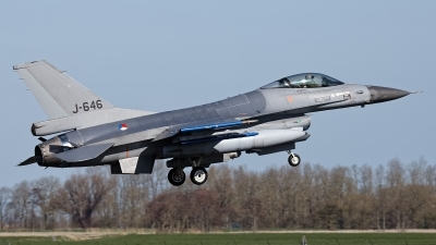 Photo ID 225136 by Rainer Mueller. Netherlands Air Force General Dynamics F 16AM Fighting Falcon, J 646